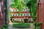 A charming Greenwich Village mew with houses dating from the 1820's, New York City