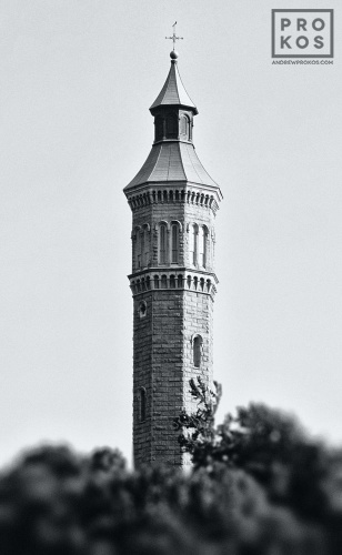 HIGH BRIDGE WATER TOWER BW PX