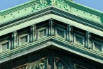 A fine art architectural photo of the ornate facade of Hoboken Station, New Jersey