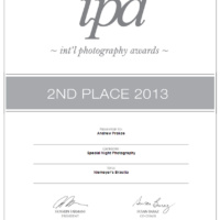 "Photographer Andrew Prokos wins 2nd place at the International Photography Awards for his series ""Niemeyer's Brasilia"""