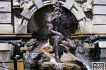An architectural fine art photo of the Neptune fountain at the Library of Congress in Washington D.C.