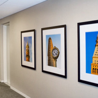 "Prints of New York landmark buildings at 24""x30"""