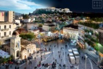 Night & Day - View of the Acropolis from Monastiraki
