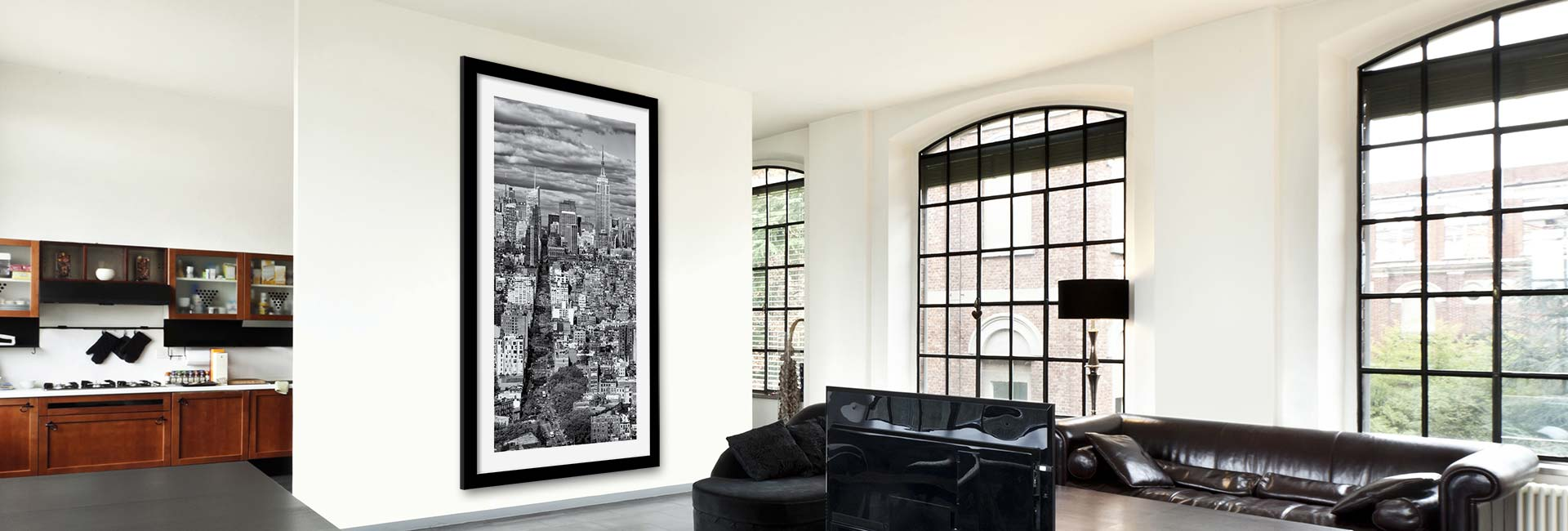 Black and white fine art prints – large-scale gallery prints of New York City by Andrew Prokos