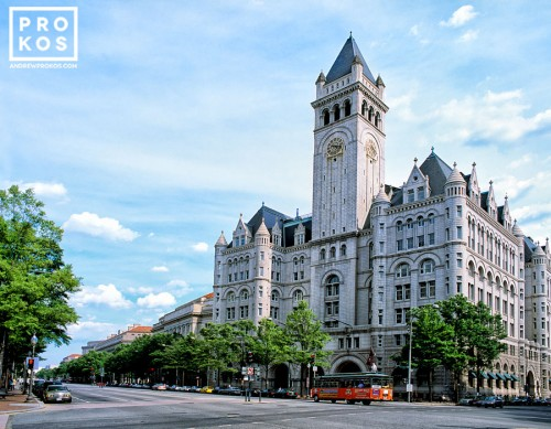 View of the Old Post Office from Pennsylvania Avenue, Washington DC