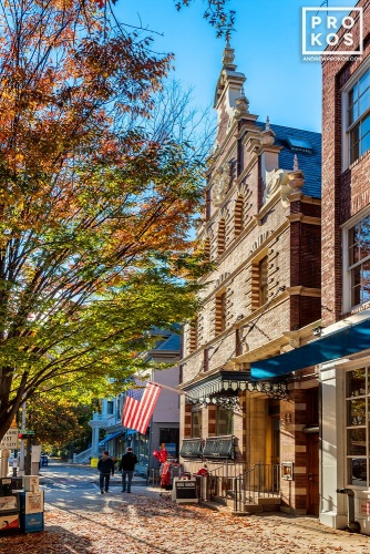 A view of Nassau Street, Princeton, New Jersey