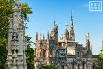 View of the Quinta da Regaleira Palace