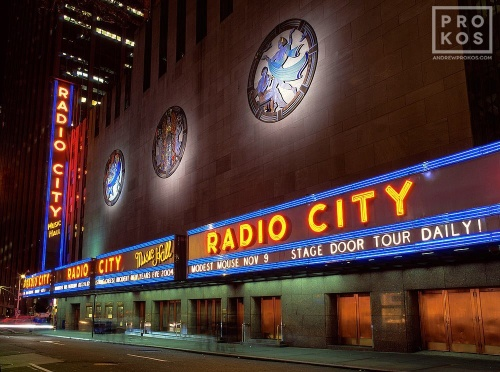 RADIO CITY SIDE NIGHT PX