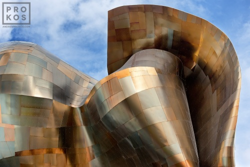 Exterior of the EMP Museum by Gehry and Partners, Seattle, Washington