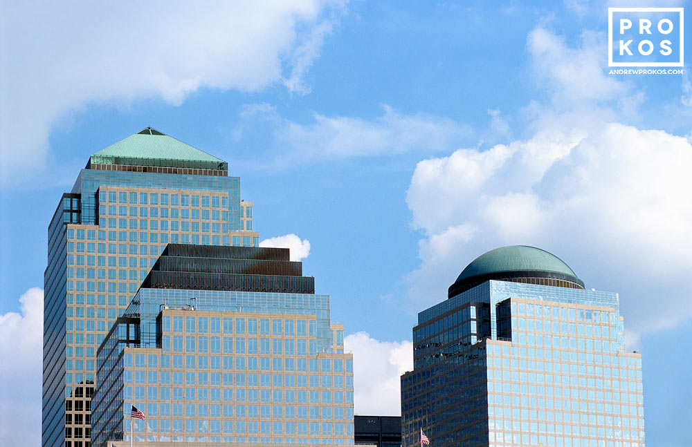 View of the World Financial Center Buildings - Fine Art ...