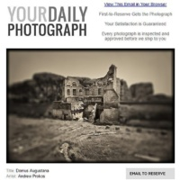 Domus Augustana by photographer Andrew Prokos wins juried competition at Your Daily Photograph / Duncan Miller Gallery