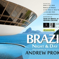 """Brazil - Nght & Day"" Exhibition by photographer Andrew Prokos at Banco do Brasil, New York City"