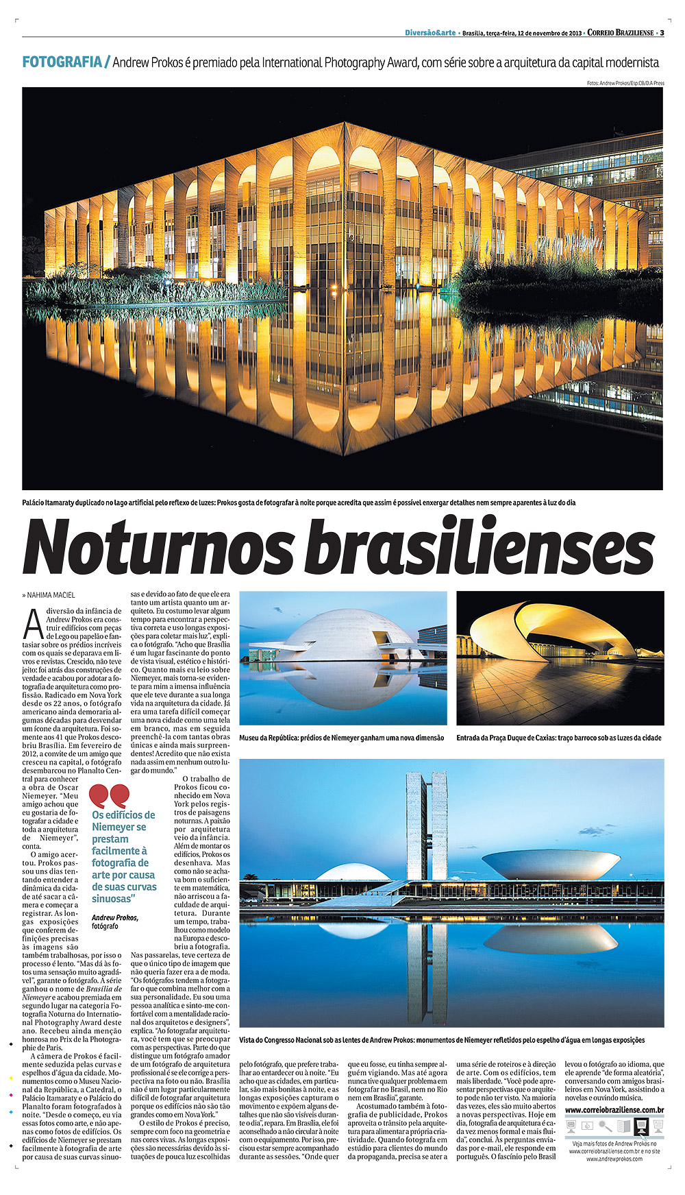 correio braziliense newspaper article