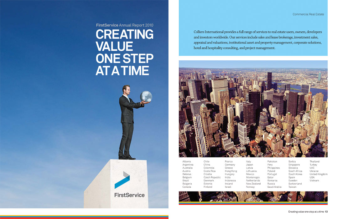 first service corporation annual report
