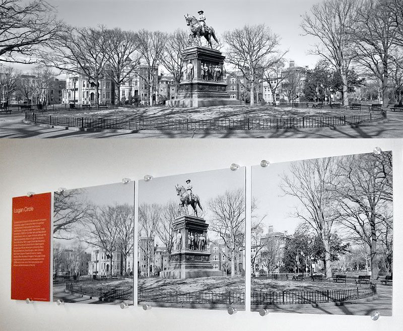 Panoramic View of Grant Circle, Washington DC
