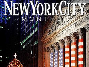 nyc monthly magazine cover prokos  TH e